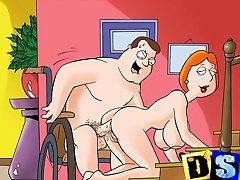Famous cartoon heroes go porn
