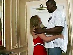 Blonde Wife Satisfies Black Man