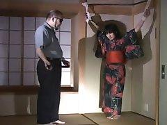 Mama A Flagelação Um Japonês M
