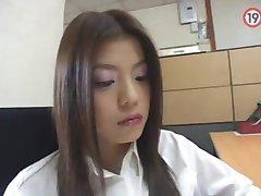 koreański dziewczyny biuro