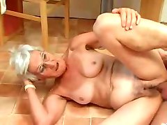 Silver 80 Year Old Gran Loves Cock N Cum !