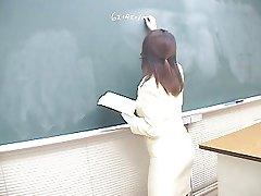 Hot Japanese teacher gangbang is your lesson