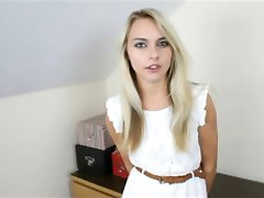Blonde babysitter POV