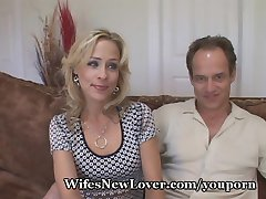 Mature Lady Fucks New Young Lover