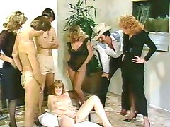 Vintage 80s Orgy
