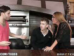 Brazzers - Kianna Dior fucks her sons friend