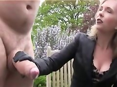 Huge Dick Gets Jerked and Cum