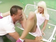 Tennis Player Fucked In Her Bum