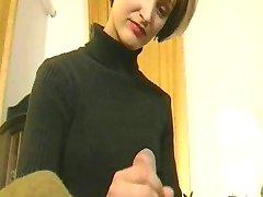 ryska flickan med varma kropp knullar