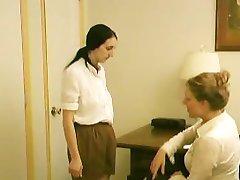Tracy & Samara Girl Scout Spanking 2 - Scene 1