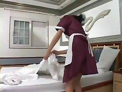 tranny maid loves cock