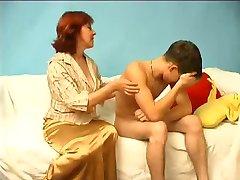 Russian Mom Catches a Boy Wanking WF