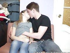 Naiv tonåring nonchalant knullade