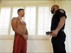 Police stops Bathroom