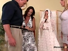 Bride Sucks StepDads Cock for Experience
