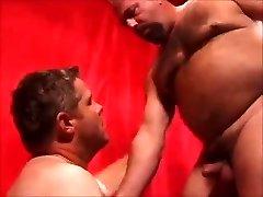 Two hot daddies fuckin'