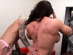 Dani Andrews Fucks Brandimae With A Belt Cock