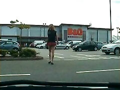 public cock displays from tranny exhibitionist whore