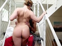 Busty housewife fuckin' her husband
