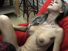 Skinny MILF lapdances, gives Oral Job and fucks in few positions