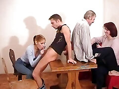 redhead russian mom with utter tits