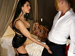 Glamour dolls pounded intensly
