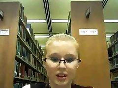 Crazy Library Girl