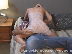 Tiny Wife Gets Huge Creampie