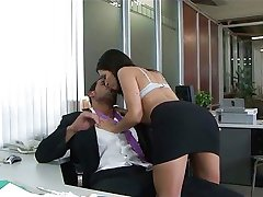 Ann Marie Rios fucked in the office