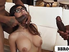 Mia Khalifa First Monster Cock Threesome