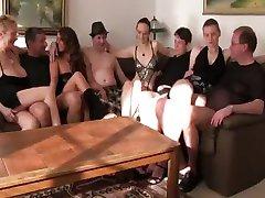 Amateur orgy
