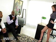 two big black dicks fucking deep butt
