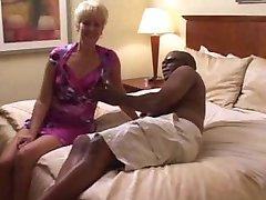 Swinger wife creampied by black man in hotel