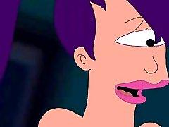 Futurama Hentai - Zapp pole for Turanga girl