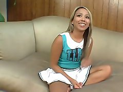 Hot Asian Teen Makes Guy Cum Twice In Her First Scene