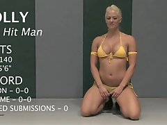Cutie getting fucked after the wrestling class