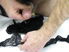 new knickers and suspender belt spunk 2