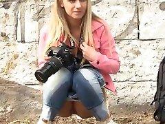The wet photographer