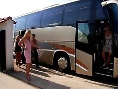Bi-atch Bus - ultimate sex party - part I