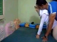 Hijab cheating arab Wife rectal kapali arkadan