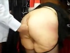 Chubby french Milf with a big ass pummeled in a sex supermarket