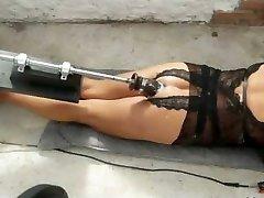 using plow machine