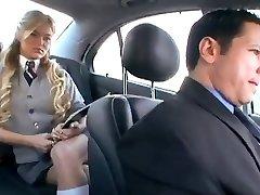 Yankee Schoolgirl cheats her Boyfriend with a Russian