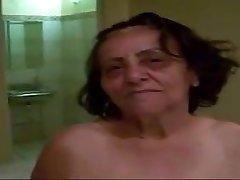 Grandma 70yo Anal poke