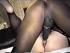 Mėgėjų Big Ass Žmona Mėgautis Kai Juodas Penis - Derty24