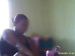 A Fekete Ébenfa Dominikai Szobalány Rejtett kamera