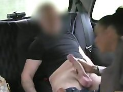 FakeTaxi Sexy hot brunette with tattoos and piercings