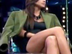 Tv Crossed Legs Upskirt