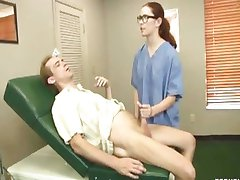 Naughty Doctor Handjob
