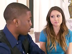 Babysitter is seduced by a Black Couple. Y & B